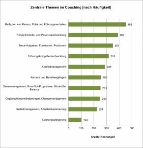 Zentrale Themen im Coaching